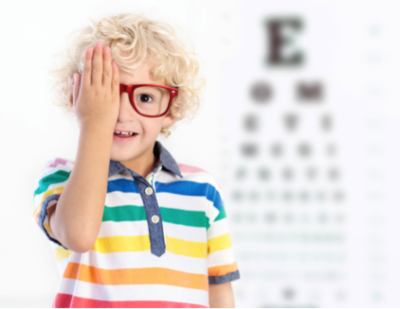 This is the image for the news article titled Recognizing & Treating Vision Problems in Children